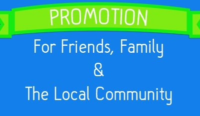 local promotion websites for £300